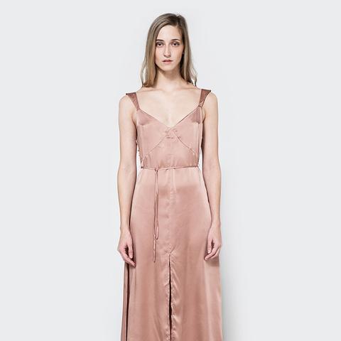 Cecilia Slip Dress in Rose