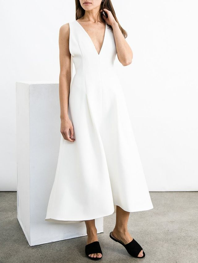 Elissa McGowan Cheminees Pinafore Dress