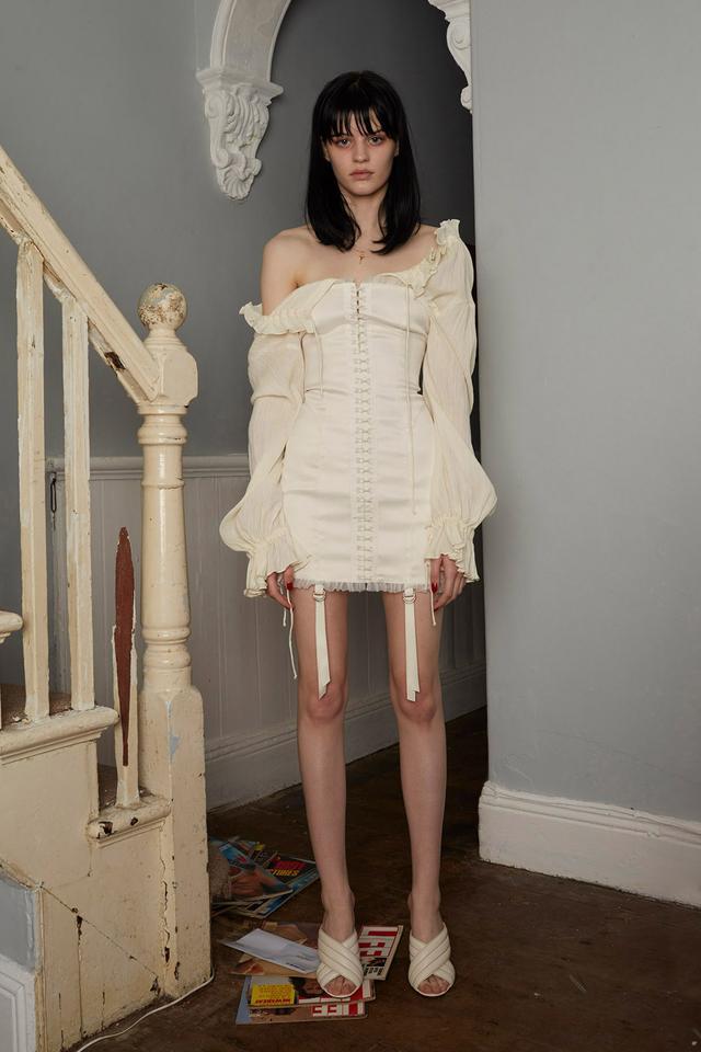 Daisy Satin Hook Dress