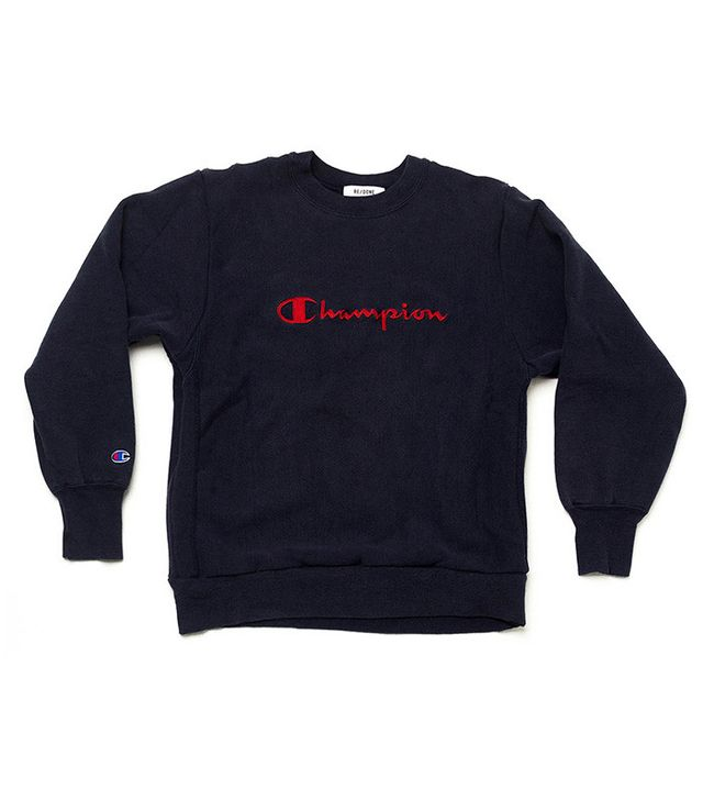 RE/DONE Champion Oversized Crewneck, Size 1