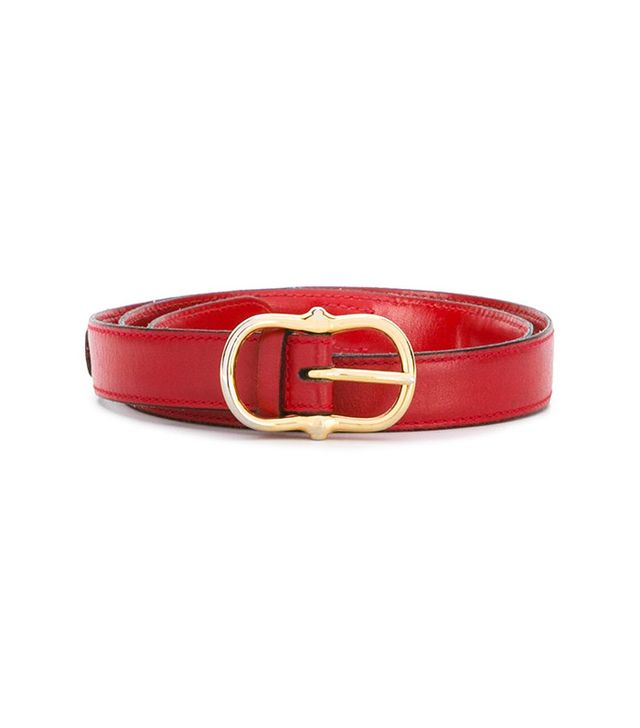 Céline Vintage Equestrian-Style Belt