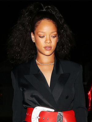 Rihanna's Santa-Inspired Belt Is Actually Amazing