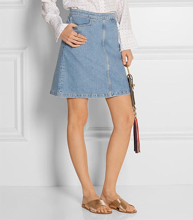 M.i.h Jeans Decade Denim Mini Skirt