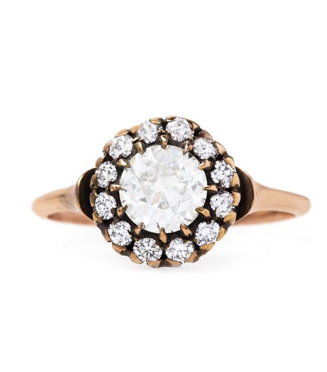 Trumpet & Horn Diamond Smokey Hill Ring