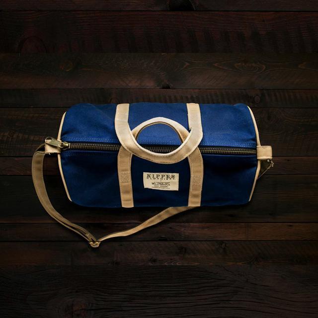 Kipper Clothiers x W.M. J. Mills Duffle Bag