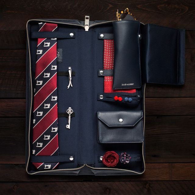 Kipper Clothiers Waxed Canvas Accessories Travel Kit