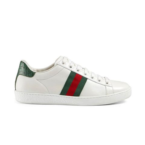Ace Leather Low-Top Sneakers