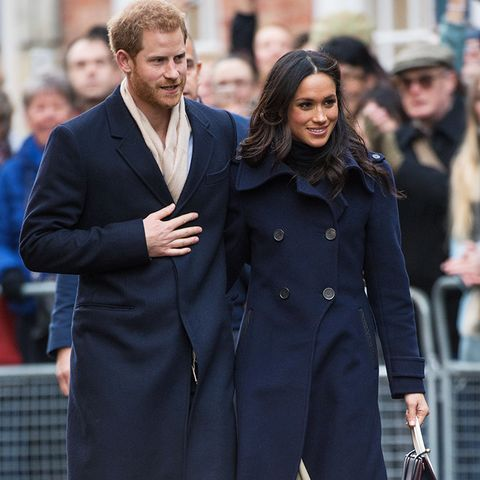 meghan markle style: mirroring your partner's wardrobe is totally OK when done well