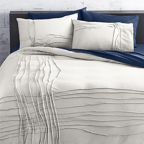 Twisted Silver Grey King Duvet