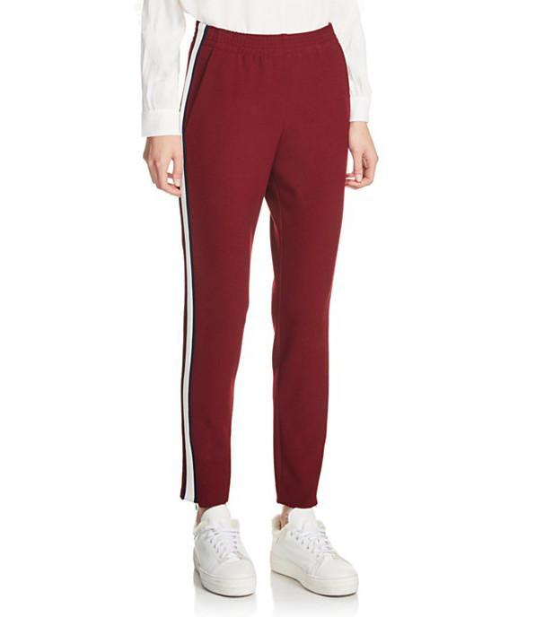 Maje Pele Stripe Track Pants