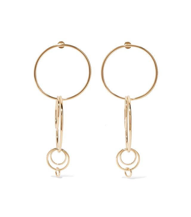 Jennifer Fisher Multi Hoop Earrings