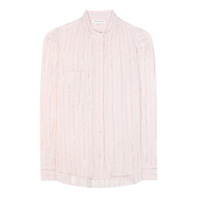 Étoile Isabel Marant Samson Striped Cotton Shirt