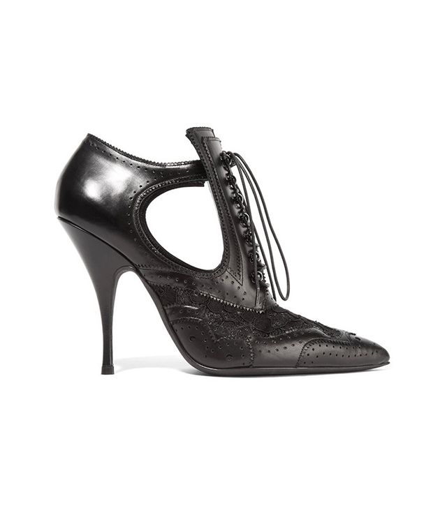Givenchy Cutout Ankle Boots