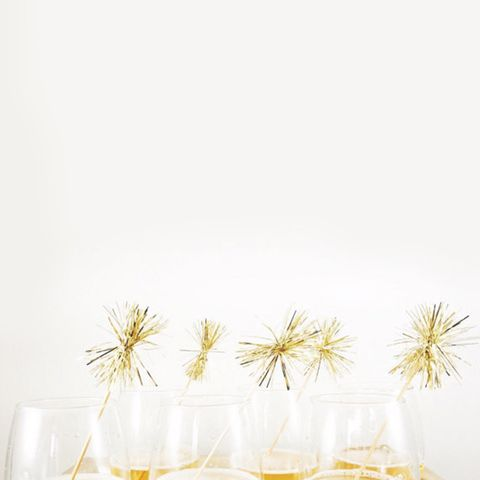 Tinsel Drink Stirrers