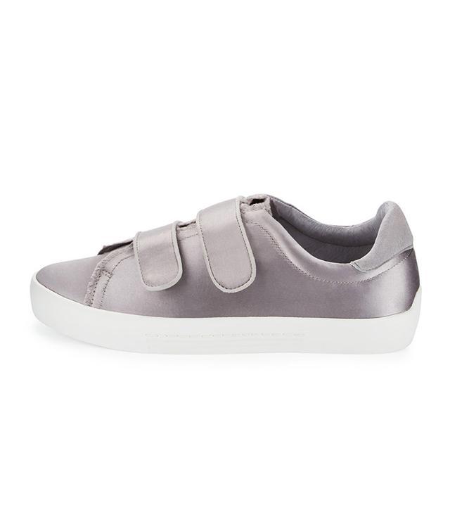 Joie Diata Satin Grip-Strap Sneaker