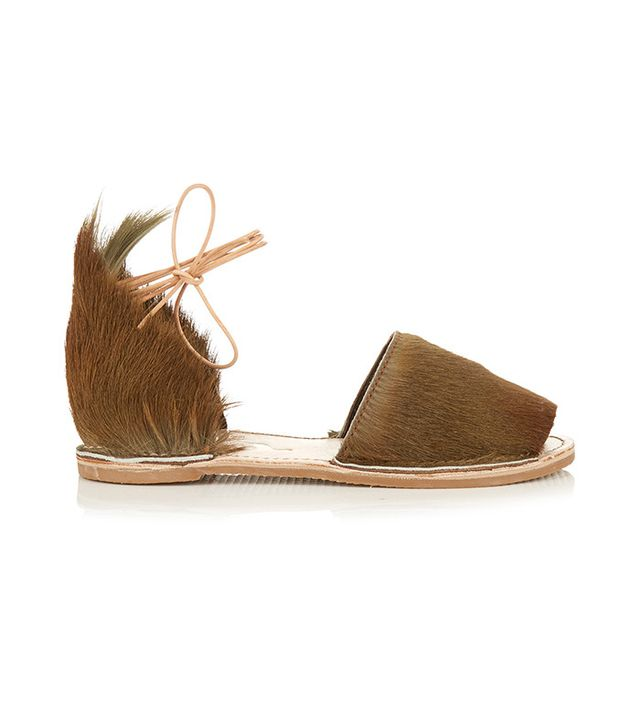 Brother Vellies Congo Wraparound-Ankle Sandals