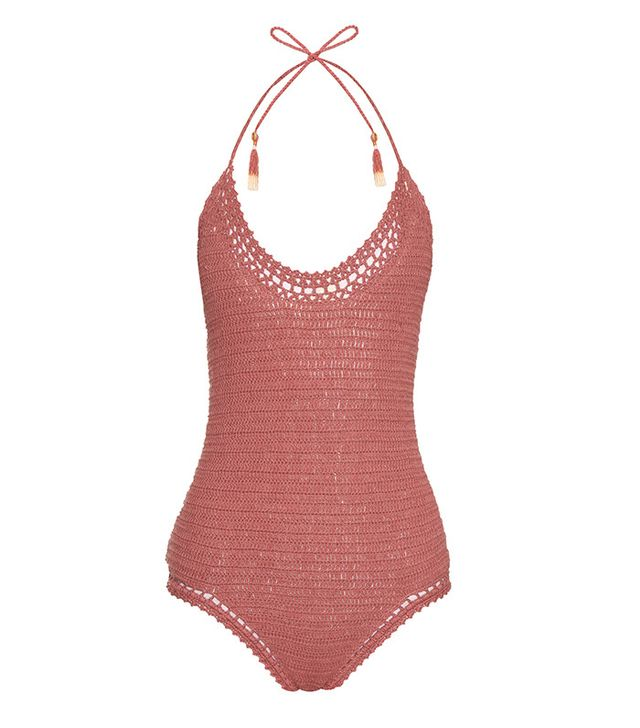 She Made Me Essential Crochet Swimsuit