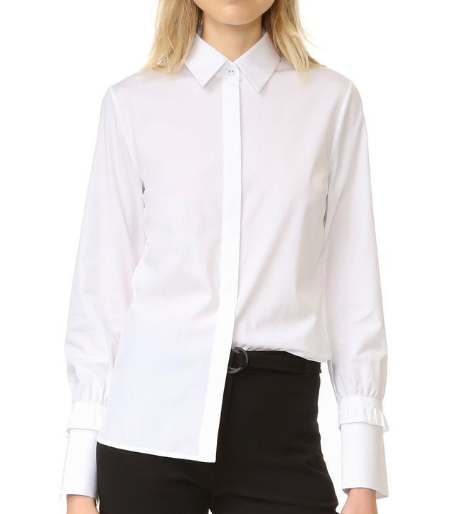 Victoria Victoria Beckham Smoked Cuff Shirt
