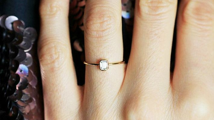 How to Make a Tiny Engagement Ring Look Much Bigger WhoWhatWear AU