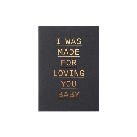 I Was Made Card