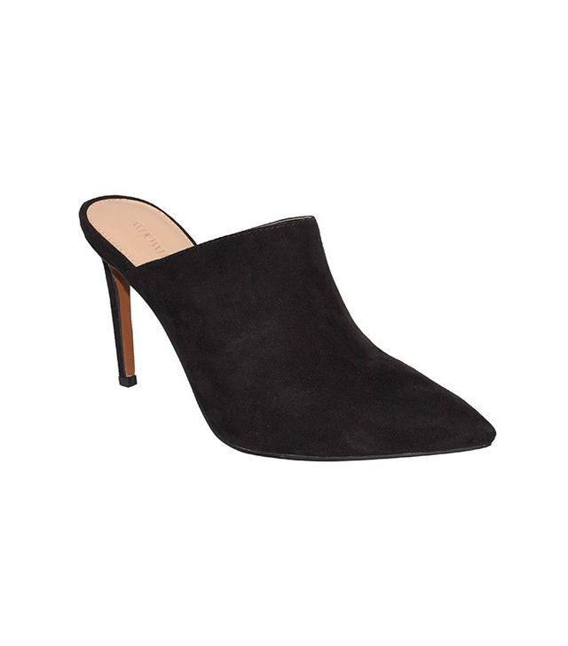 Who What Wear Farrah Microsuede Mules