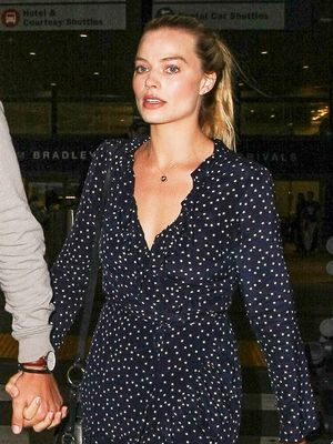 Margot Robbie Returned From Her Wedding in These Affordable Sneakers