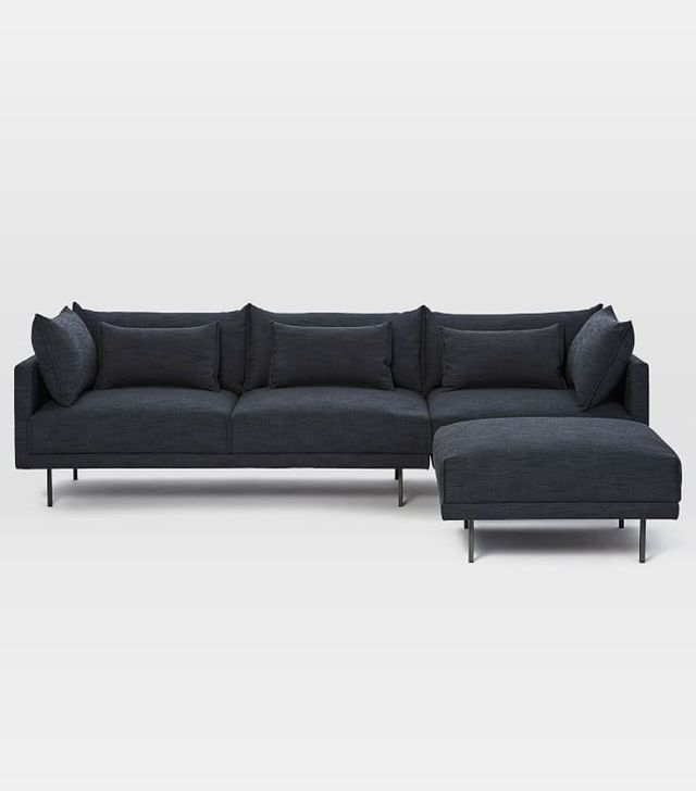 West Elm Halsey 3-Piece Sectional