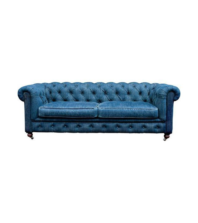 Restoration Hardware Mini Chesterfield Sofa