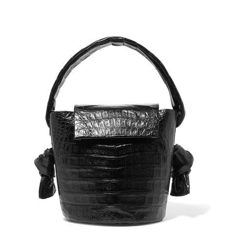 Crocodile Bucket Bag