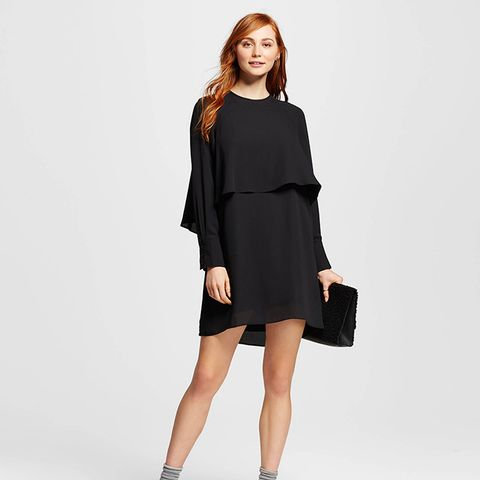 Layered Raglan Dress