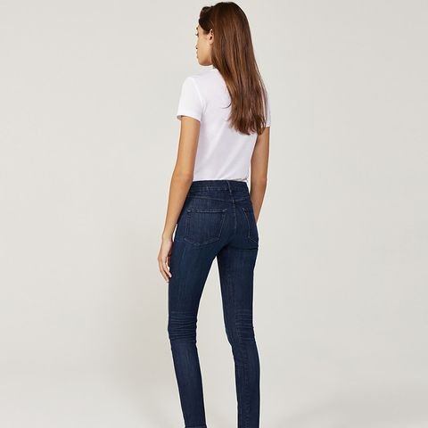 High Rise Channel Seam No. 3 Jeans