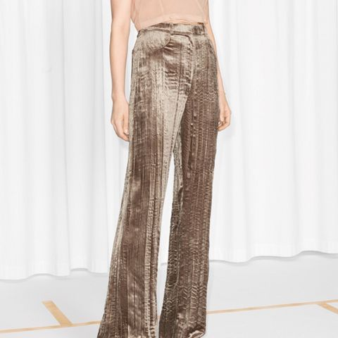 Crushed Velvet Trousers