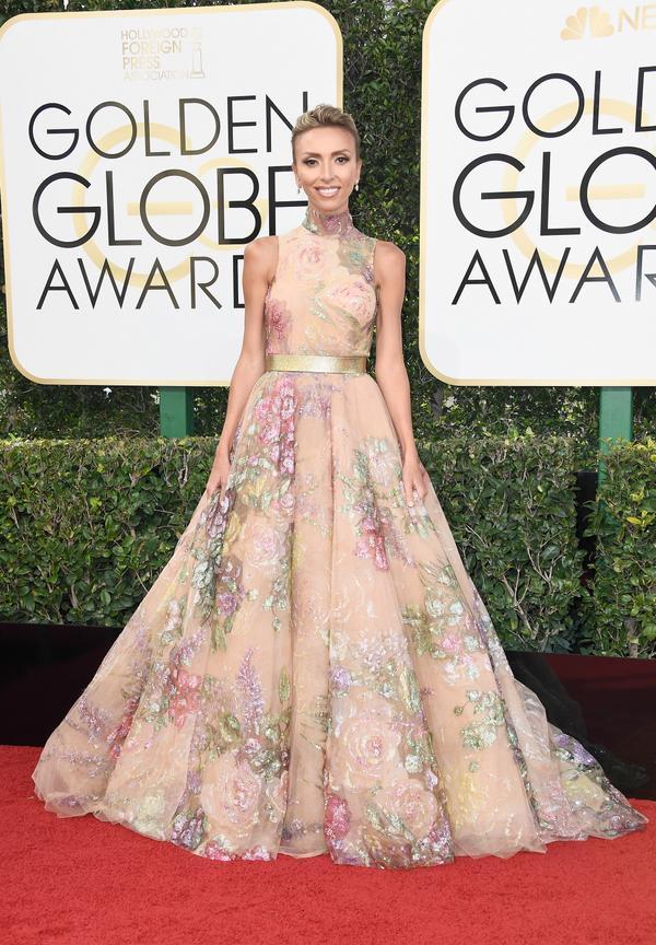 WHO:Giuliana Rancic WHAT: TV Presenter