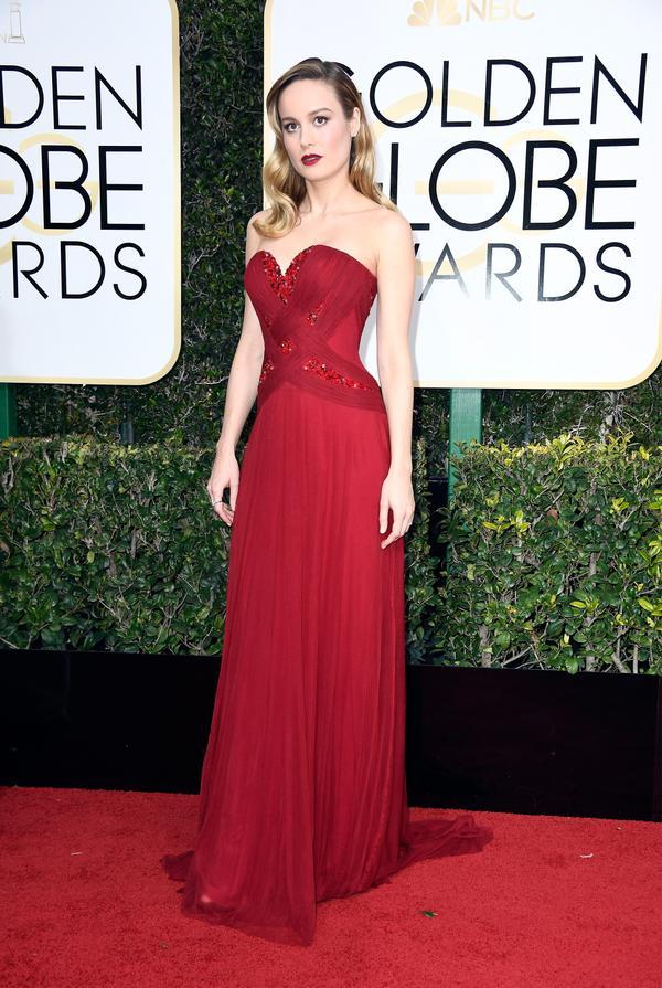 WHO: Brie Larson WHAT: Actress WEAR: Rodarte dress