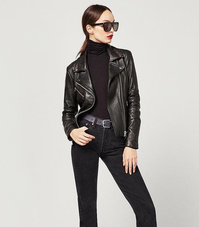 Reformation Bad Leather Jacket