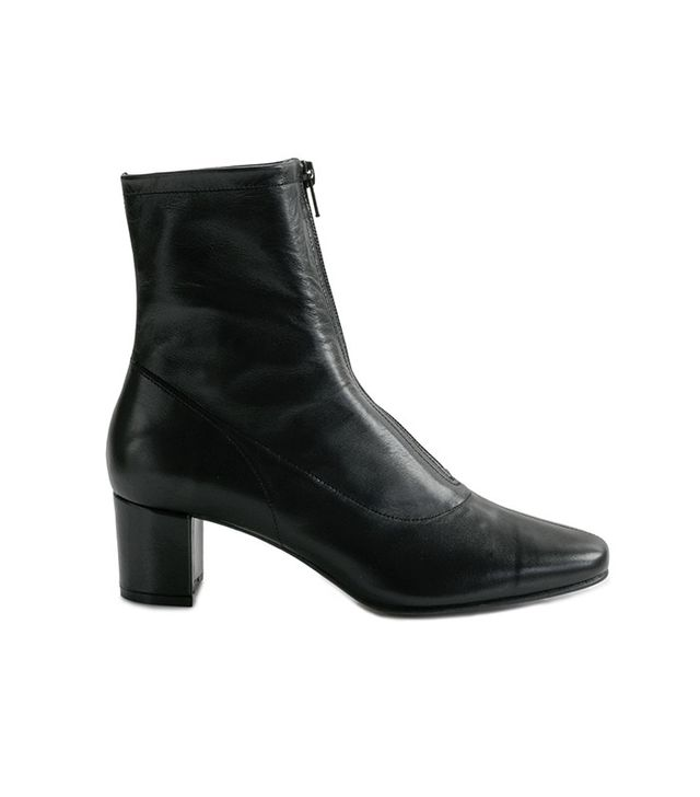 By Far Neva Black Ankle Boots