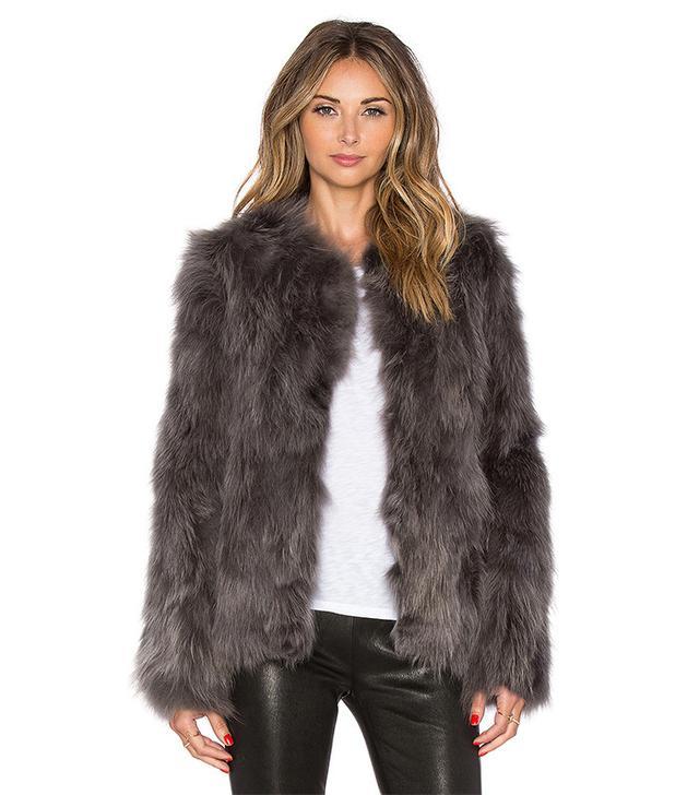 Eaves Helen Fox Fur Jacket