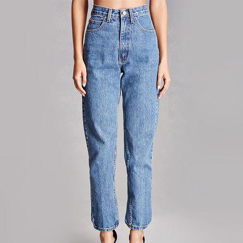 Repurposed High-Rise Jeans