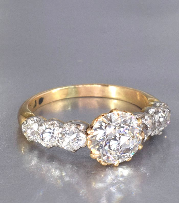 broken skindandco internet vintage blog ring the ethical bespoke has l antique engagement rings this