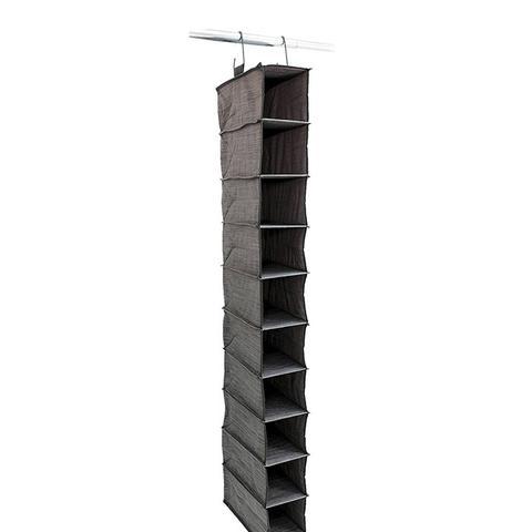 10-Shelf Hanging Closet Organizer