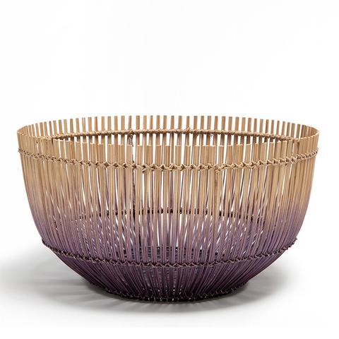 Large Ombre Lilac Basket