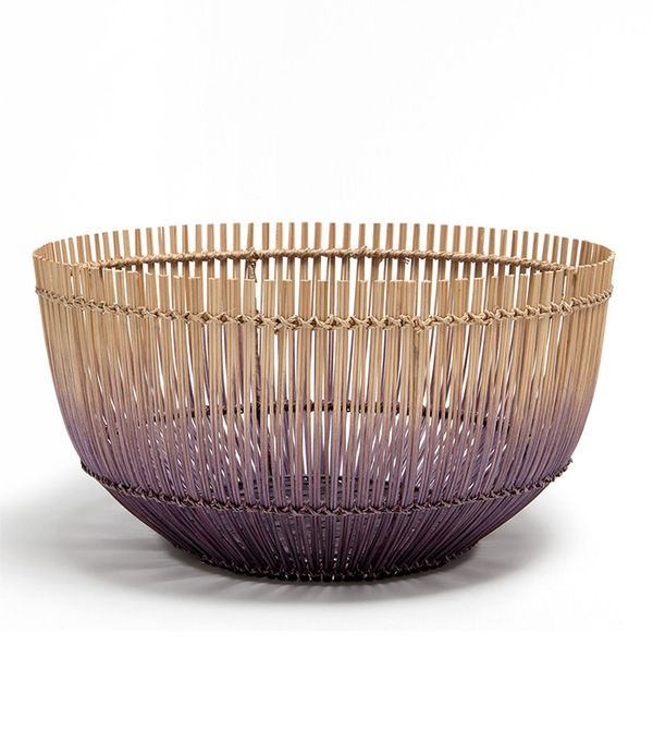 Zara Home Large Ombre Lilac Basket
