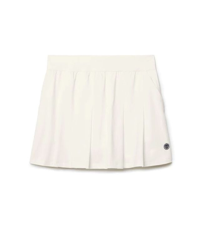 Tory Sport Pleated Jersey Skirt