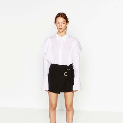 Miniskirt With Bows