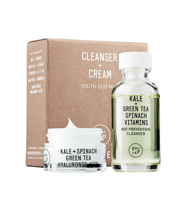 Youth to the People Cleanser + Cream Youth Duo Mini