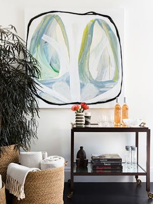 This Is How Cool People Display Their Modern Abstract Wall Art