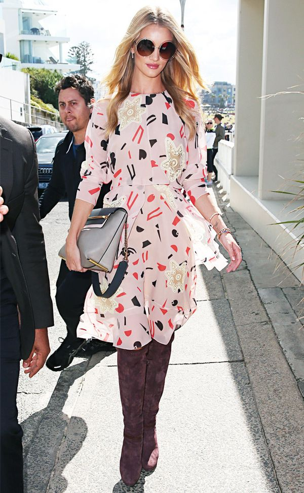 Rosie Huntington Whiteley style: