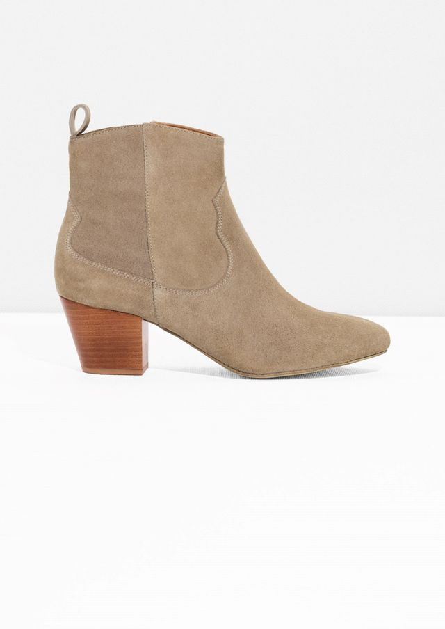 & Other Stories Ranch Suede Boots