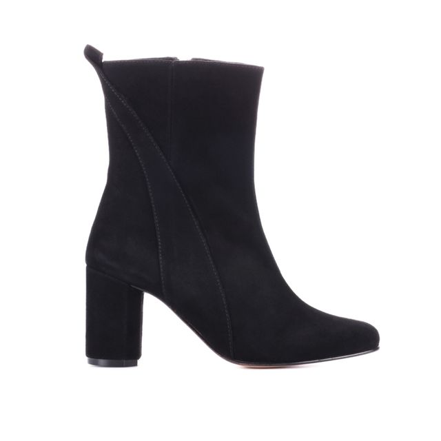 Ganni Suede Ankle Boots (