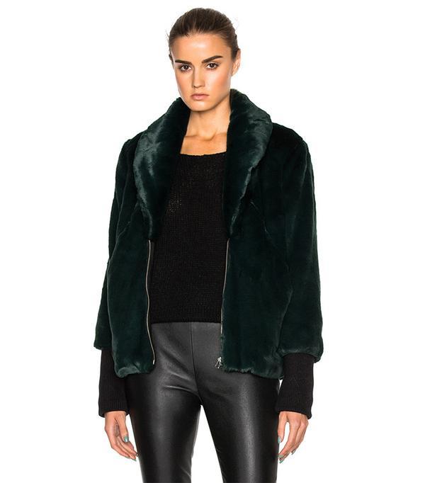 Marissa Webb Aria Faux Fur Coat